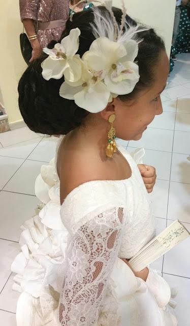 tocado de flamenca
