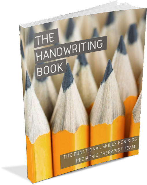 The Handwriting Book by pediatric Occupational Therapists and Physical Therapists.
