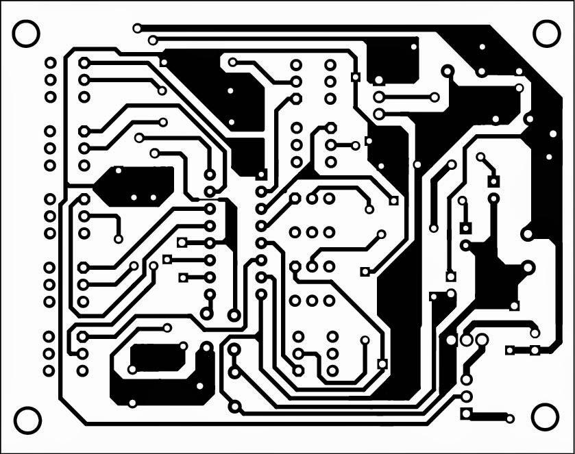 Simple Multi-tone Configurable Alarm Circuit Diagram