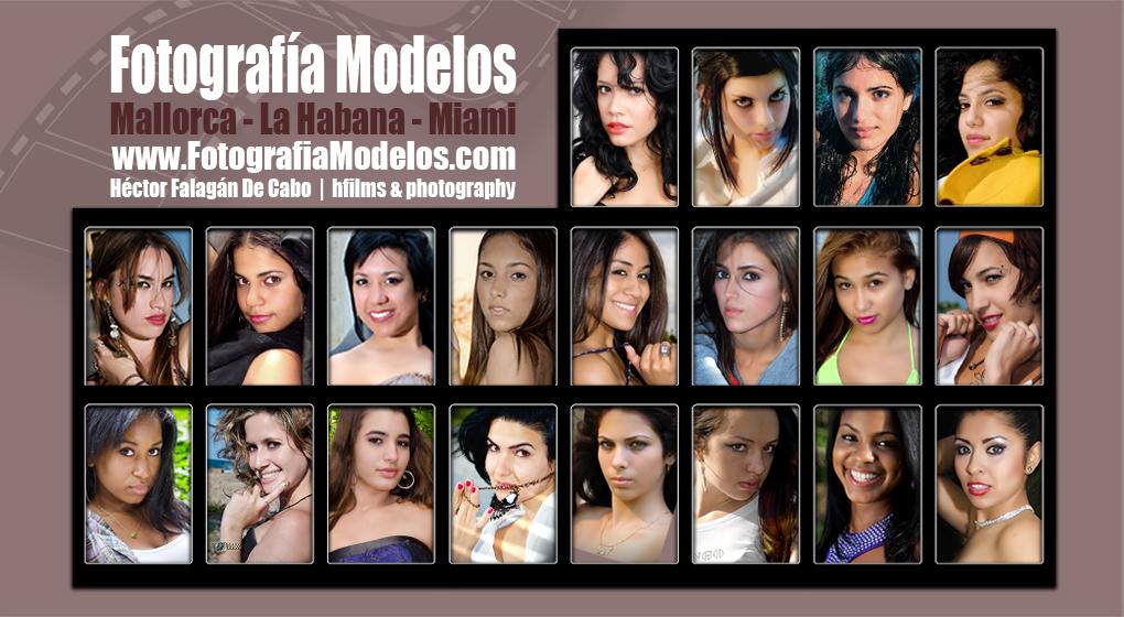 Sesiones de Fotografías y Vídeos para Modelos por Héctor Falagán De Cabo en Mallorca, La Habana y Miami