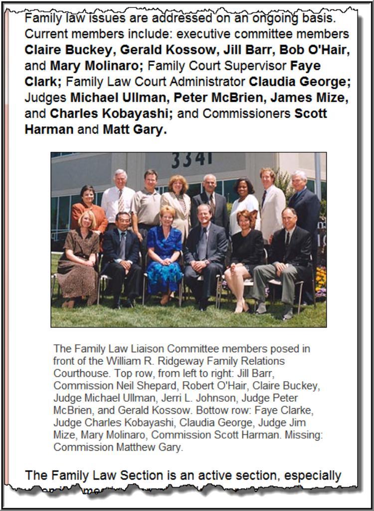 Sacramento Family Court Report: RACKETEERING-HONEST SERVICES