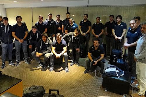 Los Pumas llegaron a Salta #PersonalRugbyChampionship