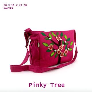 tas selempang mordiva, tas selempang pink, tas lucu, tas selempang anak