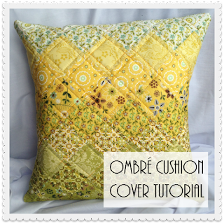 Ombre Cushion Cover Tutorial