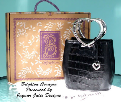 brighton corazon heart handle handbag