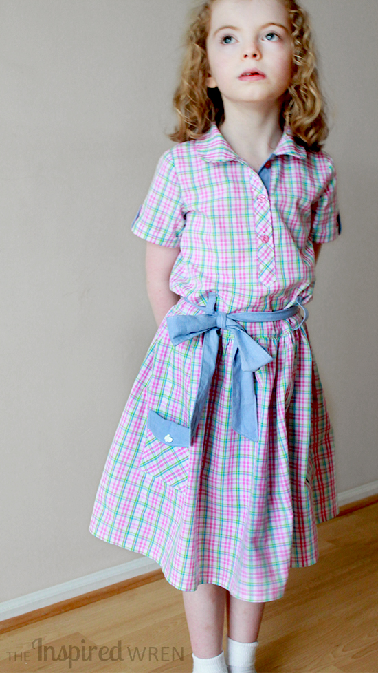 Love this Oliver + S Jump Rope (Easter/Picture Day Dress) | The Inspired Wren