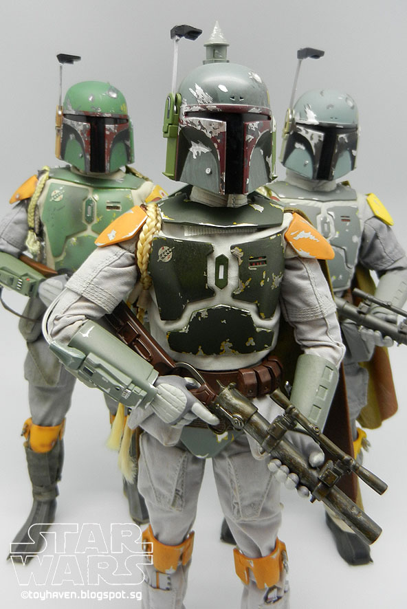 Toyhaven Comparing 12 Inch Boba Fett Action Figures By Marmit Medicom Toys And Sideshow Collectibles