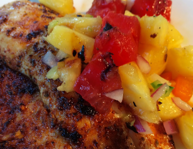 How to Make Tilapia with Watermelon Salsa
