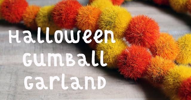 Halloween Gumball Garland