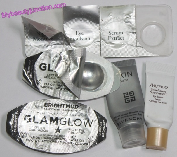 Beauty products emptied in August 2014