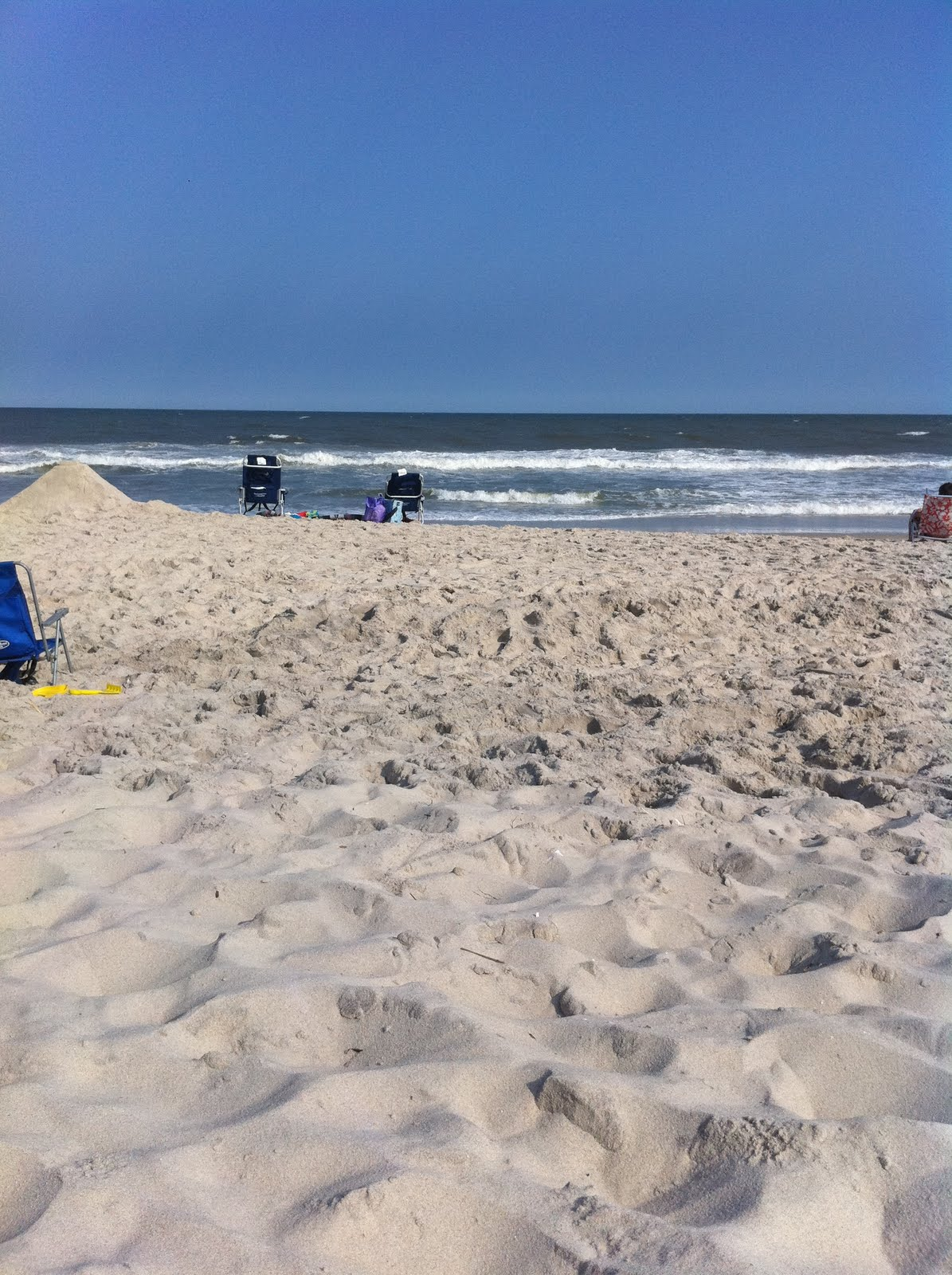 Stargazun Designs: Beach At The Jersey Shore