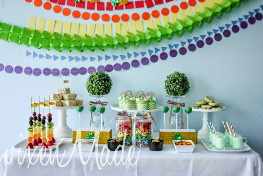 vixenMade: Rainbow St. Patrick's Day Party