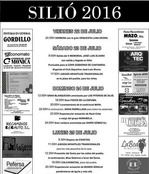 Fiestas de Santiago 2016 en Sili�