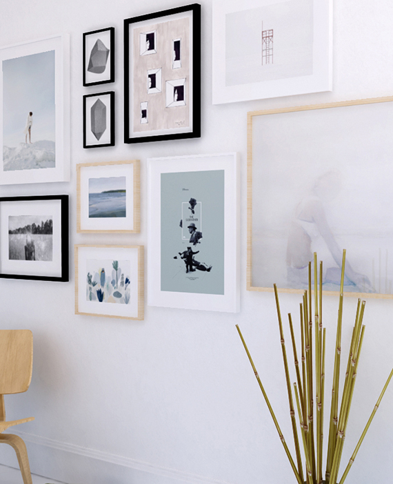 Art gallery wall idea to shop | My Paradissi