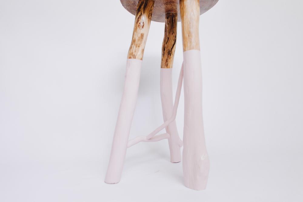 wooden australian stool
