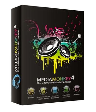 MediaMonkey Gold 4.1.6 Full + Keygen Free Download