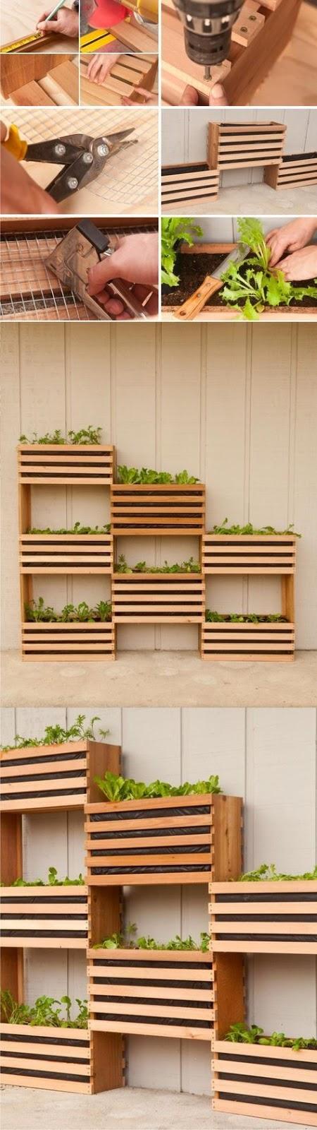 jardin vertical de madera como hacer