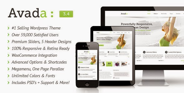 Avada v3.4 - Responsive Multi-Purpose Theme