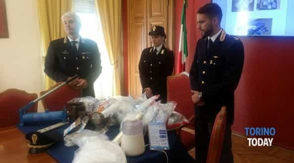 Albanian arrested in Turin with 05 million euros worth of drugs