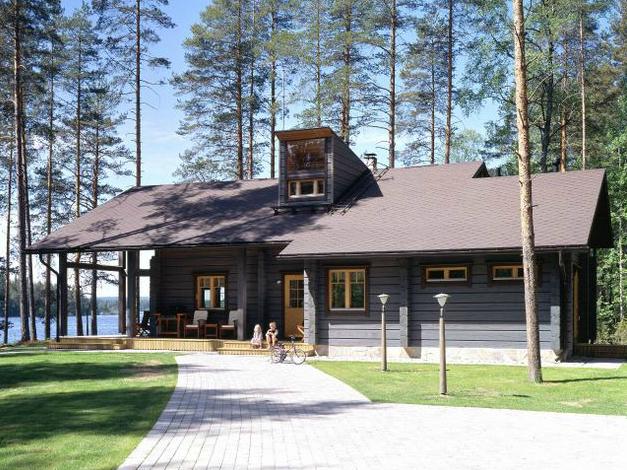 Casas de madera prefabricadas casa de maderas pintadas - Casas de madera pintadas ...