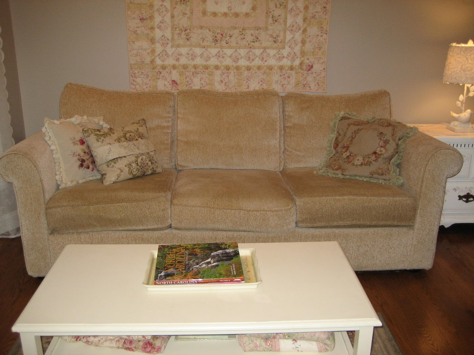... Sofa With Washable Slipcovers. So, I Found One In The Basic Style I  Liked And Thought That When The Upholstery Wore Out I Would Make Or Have  Slipcovers ...