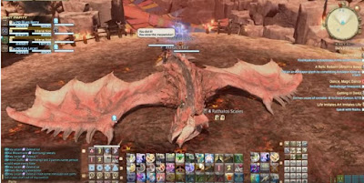 Defeat Rathalos Extreme, Features, FFXIV EX Version
