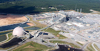 An aerial view of Mississippi Power's Kemper County Energy Facility. (Credit: Mississippi Power) Click to Enlarge.