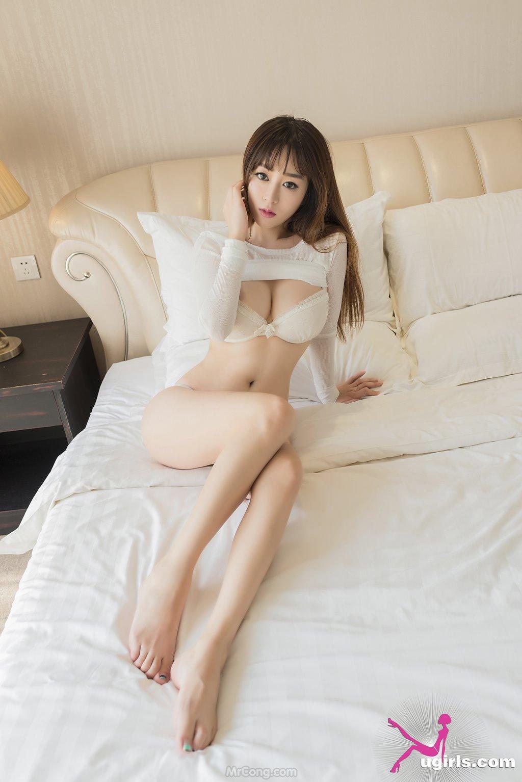 Image MrCong.com-UGIRLS-039-Wang-Yu-Chun-019 in post Ngắm người đẹp Wang Yu Chun (王雨纯) thả dáng sexy trong bộ ảnh UGIRLS 039