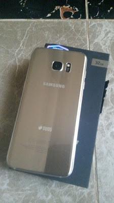 Samsung Galaxy S7 Edge Unboxing