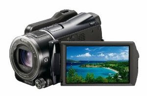 Sony HDR XR550V camcorder overview