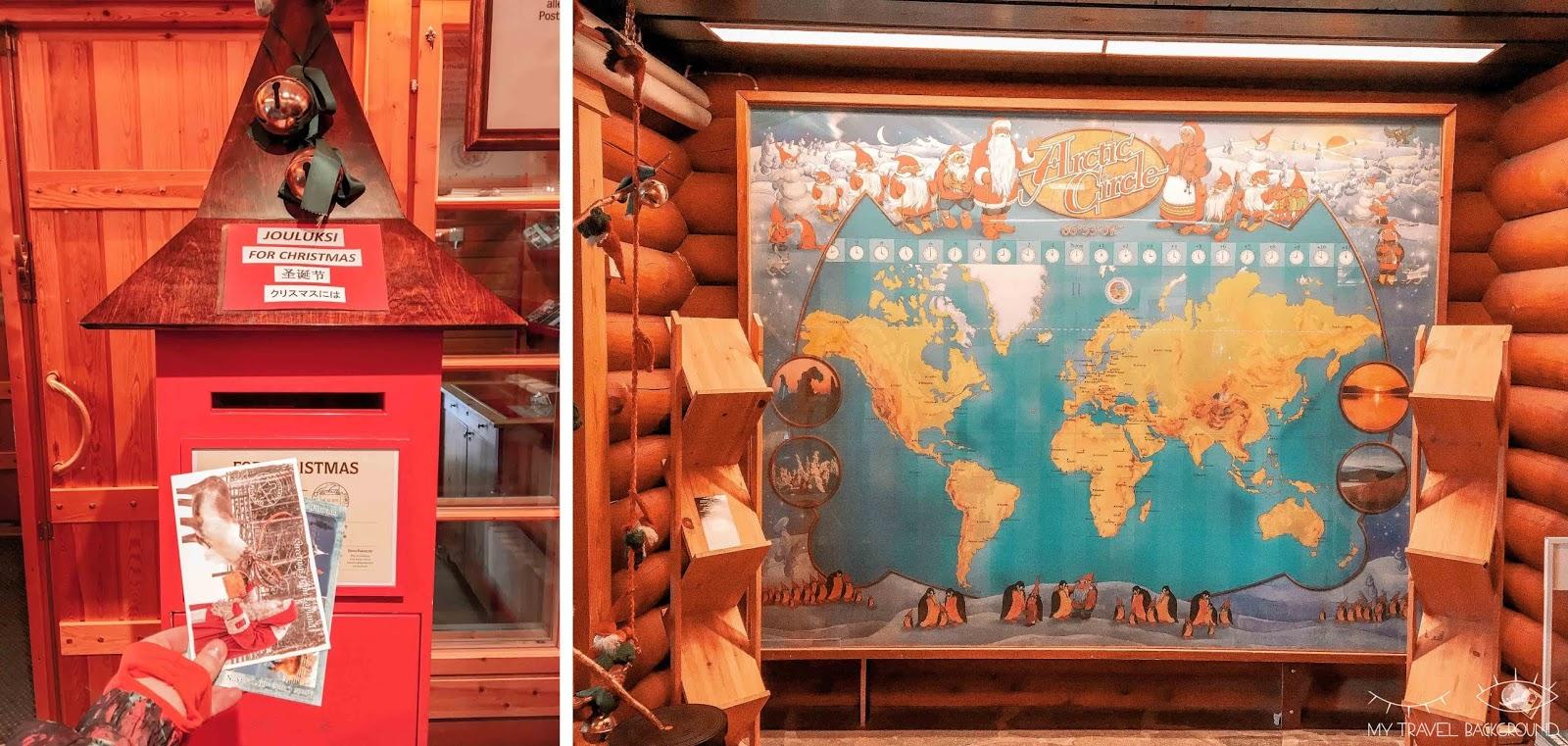 My Travel Background : le jour où j'ai rencontré le Père Noël en Laponie - La poste du Père Noël