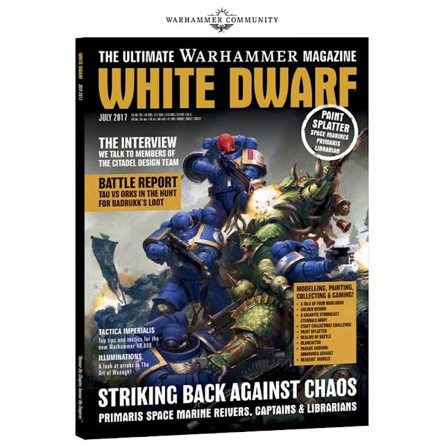 July White Dwarf Preview