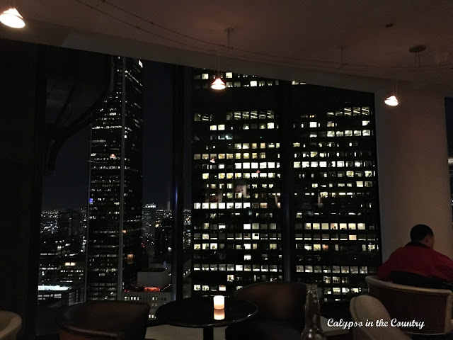 Revolving Buena Vista Lounge at Westin Bonaventure