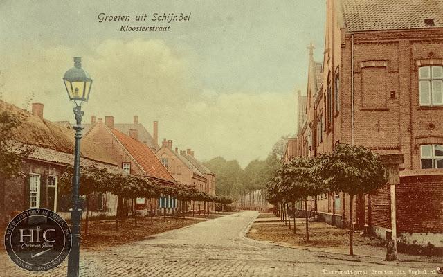 Ingekleurde foto Schijndel Kloosterstraat (Gemeente Meierijstad)