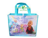 tas ultah anak murah, tas souvenir ultah, tas ulang tahun, tas ultah little pony.