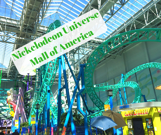 Indoor Amusements and Roller Coasters at Nickelodeon Universe at Mall of America