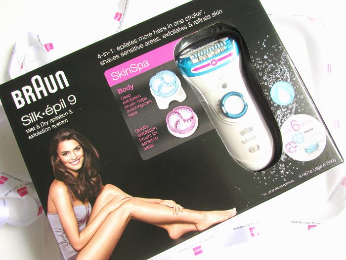 Beautypress News Box Juni 2016 - Braun Silk-épil 9 SkinSpa System 6tlg. - 194,99 € (UVP)