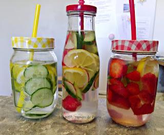 Agua DETOX refrescante