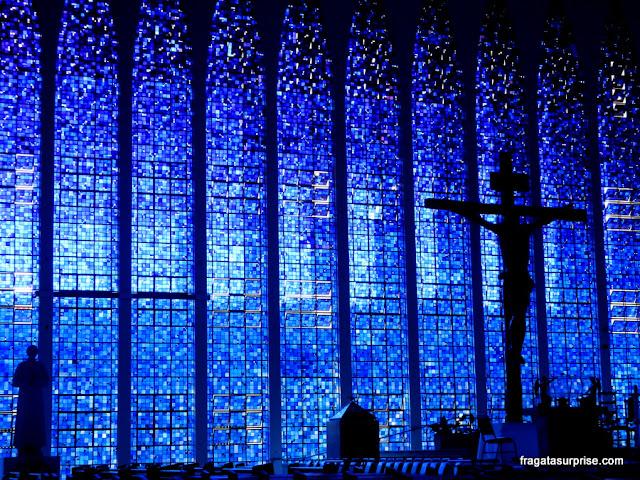 Vitrais do Santuário Dom Bosco, em Brasília