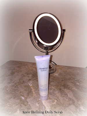 Beauty, Avon, Skincare Routine, Anew Products, Anew Vitale, Anew cleaning brush, Anew Daily Scrub, Beauty Products,