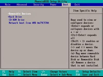 Jika Anda sedang melaksanakan instalasi pada komputer Cara Merubah Boot Order/First Device Boot pada Komputer