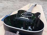 "Gitar AkustikElektrik Telecustik Custom "" Gitar Fiber"