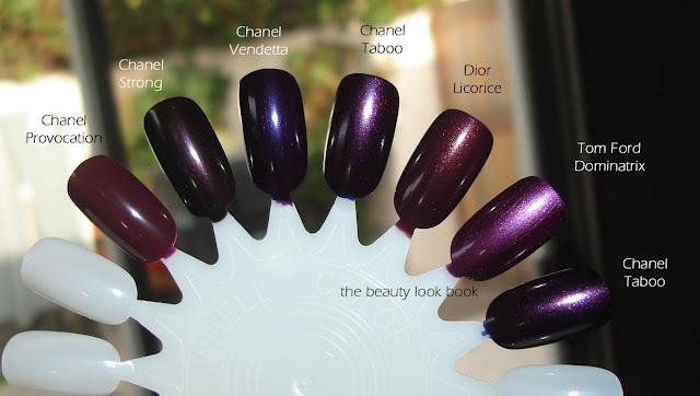 The Beauty Look Book Chanel Taboo 583 Le Vernis