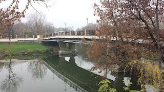 Yambol City Park, Yambol, Bridge, Entrance, Southbank,