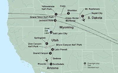 National Parks Solar Eclipse Tour