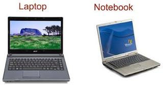 perbedaan antara laptop dan notebook,dengan laptop,sama laptop,