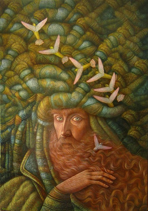 Hernán Valdovinos 1948 | Magical Realism painter