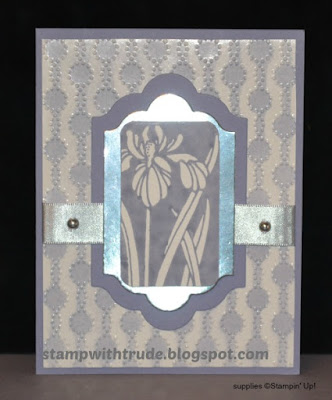 Botanical Garden, Stampin' Up!, #stampinup, Stamp with Trude, greeting card, floral, Throwback Thursday
