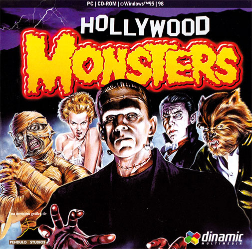 Hollywood Monsters Estuche CDs delantera