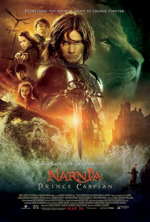 The Chronicles of Narnia: Prince Caspian 2008 Hindi Dual Audio 1300MB BluRay ESub Download